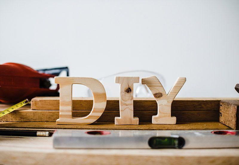 DIY-bokstäver