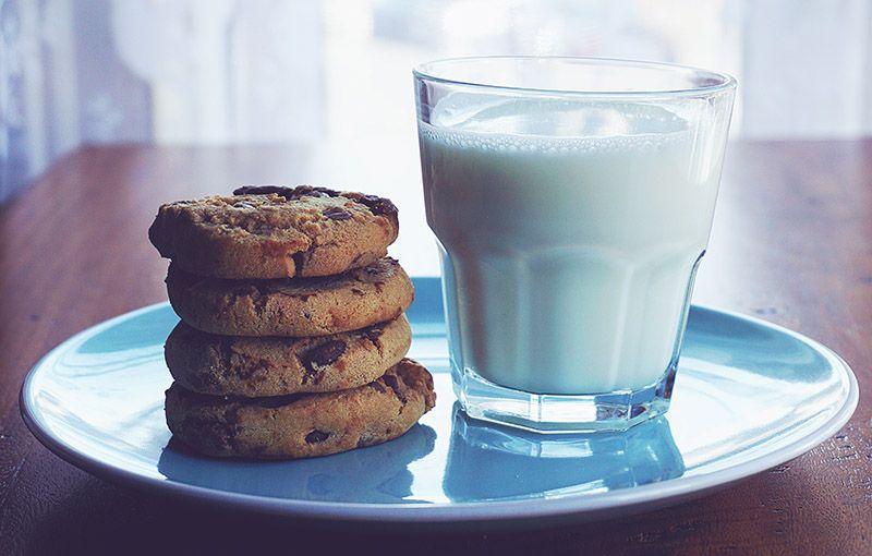 Mjölk-i-glas