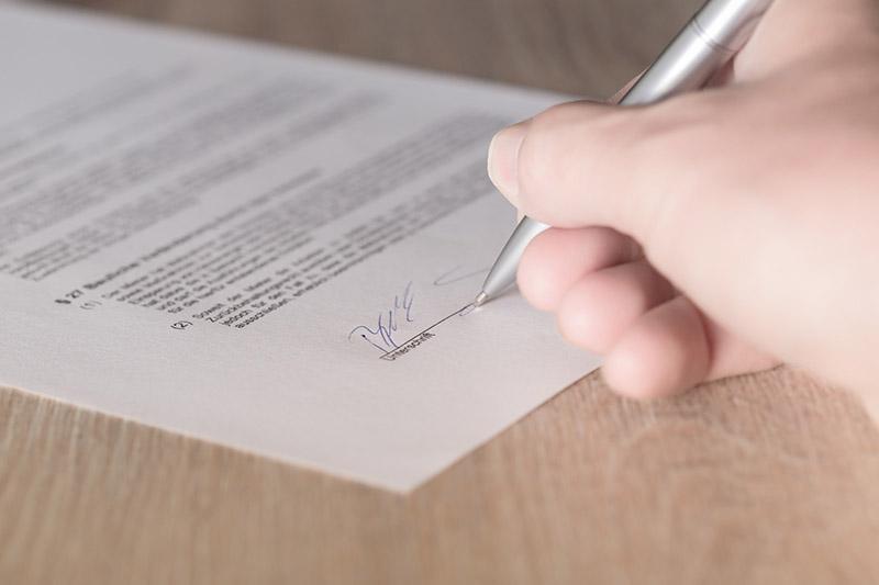 Signerar-lånelöfte