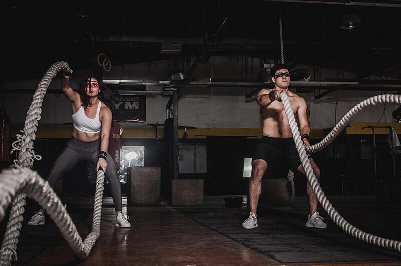 Presterar-på-gymmet